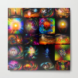 Collected Works Metal Print