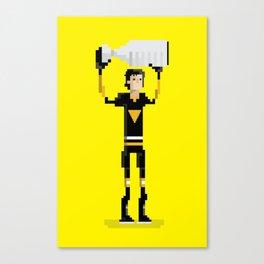 Pittsburgh Hockey Canvas Print