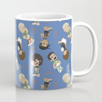 1d Mugs featuring Sleepy 1D by Ashley R. Guillory