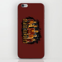 Space Cowboys iPhone Skin