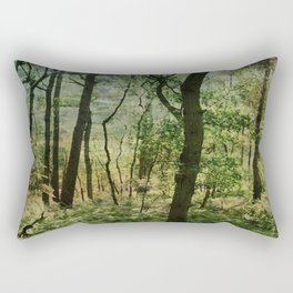 Woodland trees Rectangular Pillow