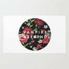 vampire weekend floral Rug
