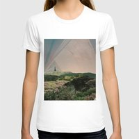camping T-shirts featuring Sky Camping by Ffion Atkinson