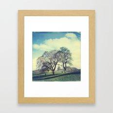 Calton Hill Framed Art Print