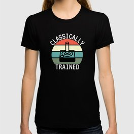 Classically Trained Gaming Joystick Game T-shirt