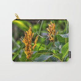 Yellow flower in the rain forest Carry-All Pouch