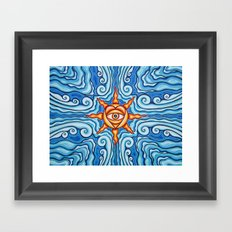 The Four Winds Framed Art Print