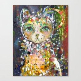 Guardian Of Stillness Canvas Print