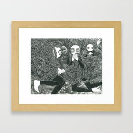 The Riddle Of Eyes (9/17) Framed Art Print