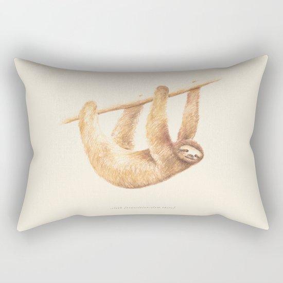 Css Animal: Sloth Rectangular Pillow