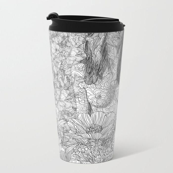 Enjoy the Silence Metal Travel Mug