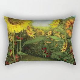 Hidden path Rectangular Pillow