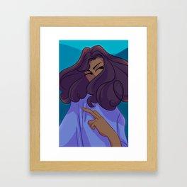 I Can Wash You Off My Skin Framed Art Print