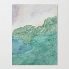 Converging Seas Canvas Print