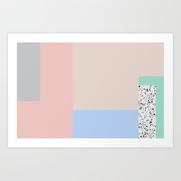 Composition #1 Art Print
