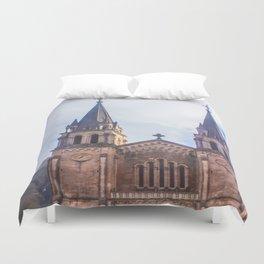 Basilica of Santa Maria Duvet Cover