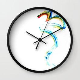 Freudism Wall Clock