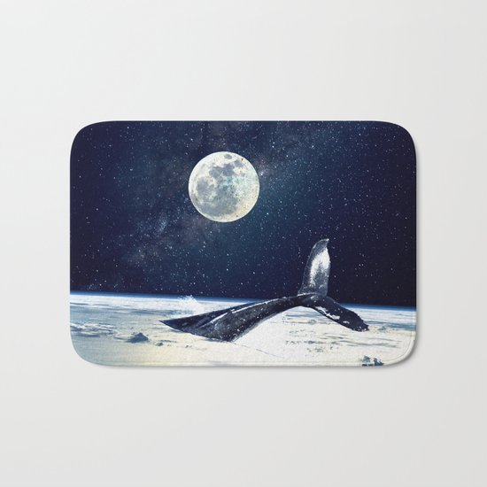 Stay in Space Bath Mat