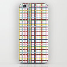 Rainbow Weave iPhone & iPod Skin