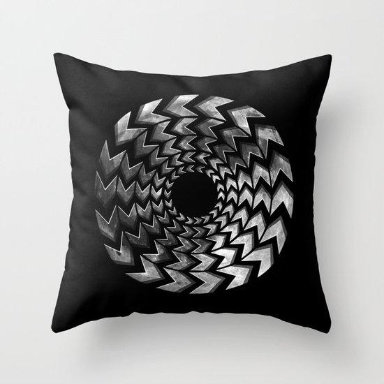 Lunar Illusion Throw Pillow