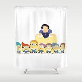 Gru & the seven dwarfs Shower Curtain