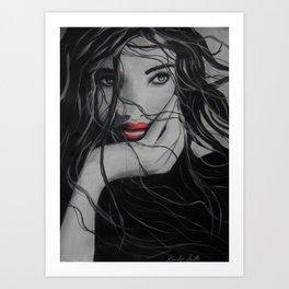 I am determined to go until I break  ByBrandon Scott Art Print