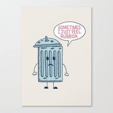 Rubbish Canvas Print