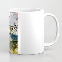 Fleeing Creativity (surreal) Coffee Mug