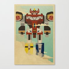 The Mega of the Zords Canvas Print