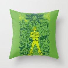 Tokyo-to Throw Pillow