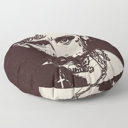 Lil Peep Poster Floor Pillow