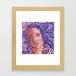 Variations On Botticelli's Venus – No. 2 Framed Art Print