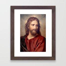 Heinrich Hofmann Christ 1889 Framed Art Print