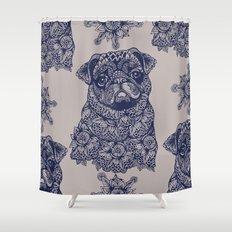 MANDALA OF PUG Shower Curtain
