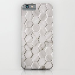 Hexies in the Wild - White iPhone Case
