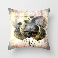 Skulloons B10 Throw Pillow