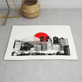 Modern Japan - Tokyo - Shinjuku Rug