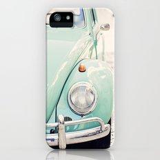Escarabajo turquesa. iPhone (5, 5s) Slim Case