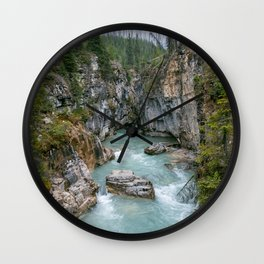 Marble Canyon 2 Wall Clock