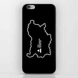 The Bulgarian Echelon (B/W) iPhone Skin
