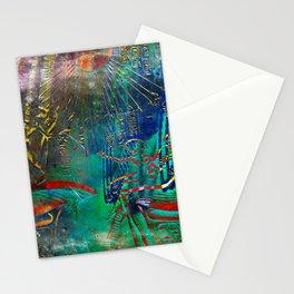 Egyptian wall III Stationery Cards