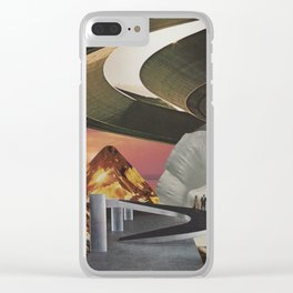 Niemeyers Dream Clear iPhone Case