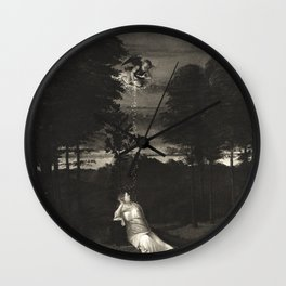 A Maidens Dream. Lotto. Wall Clock