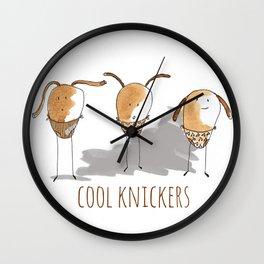 Cool Knickers Wall Clock