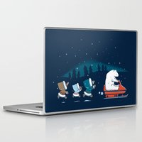 grand theft auto Laptop & iPad Skins featuring Grand Theft Arctic by maudie&ma