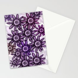 Nature inspirational floral and leaves design Stationery Cards