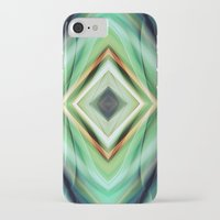 green pattern iPhone & iPod Cases featuring Pattern green  by Christine baessler