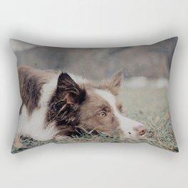 Kiva the dog Rectangular Pillow