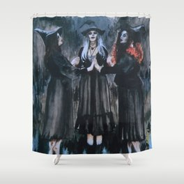 3 Witches Shower Curtain