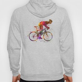cyclist road bicycle Hoody